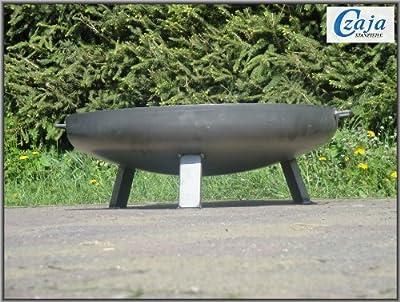 Feuerschale Kiel Ø 80 cm versandkostenfrei in Deutschland von Czaja Stanzteile auf Du und dein Garten