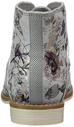 s.Oliver Damen 25100 Chukka Boots Silber (SILVER FLOWER 946)