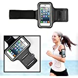 [2014 Updated Version] SAVFY iPhone 5/5S/5C/4/4S Strong Armband Case for Sports Gym Bike Cycle Jogging - Exclusive Earphone Hole Design for Apple iPhone.
