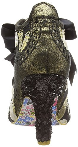 Irregular Choice - Abigail's Third Party, Scarpe col tacco Donna Gold (Gold Multi)