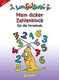 Mein dicker Zahlenblock für die Vorschule (LernSpielZwerge - Sammelblock)