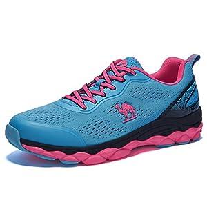 CAMEL Herren Damen Bequem Schnürer Gym Fitness Atmungsaktives Turnschuhe Freizeitschuhe Ultra-Light Sportschuhe Laufschuhe