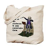 CafePress - Conductor Tote Bag - Natural Canvas Tote Bag, Cloth Shopping Bag
