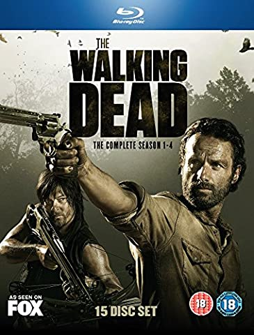 The Walking Dead: Season 1-4 [15 Blu-rays] [UK Import]