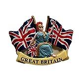Union Jack Britische Flagge UK MAGNET Souvenir. Souvenir/Speicher/MEMORIA. Eine stilvolle, Günstigen London, England British UK Collectible Magnet zu unglaublichen Preisen. Eine unvergessliche und elegant London Souvenir. Aimant/Magnet/Magnete/ImÁn. S01