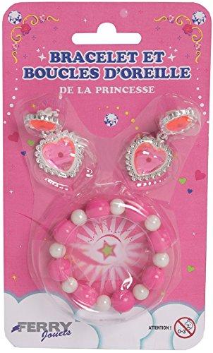 sans marque Bracelet Et Boucles d'oreille Princesse Modèle Aléatoire