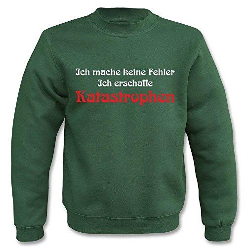 Pullover - Ich mache keine Fehler Grün
