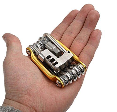 JOYORUN Werkzeug Kettengliedzange Linkfix, Schwarz-Blau, Fahrrad Ketten Werkzeug, Kettenverschluss-Glied, 678, 9, 10 fach Ketten - 3