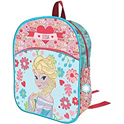 Mochila Frozen Disney Flowers 3D