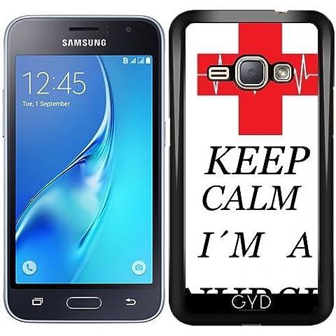 Coque pour Samsung Galaxy J1 2016 (SM-J120) - Infirmière Médecin