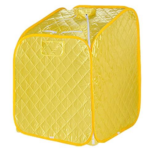 A Sauna box Tragbare 1.8l Dampfsauna-60 Min. Timer-Spa-GanzköRper, Der Verlust-Gewicht-Detox-Therapie-80cm * 80cm * 105cm Abnimmt (31.49 * 31.49 * 41.3 In) Gesunde Detox -