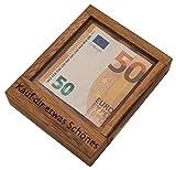 ROMBOL Pfiffiger Geldschein-Tresor - Originelle Verpackung für Geldgeschenke in Form eines Geduldsspiels , Modell:2