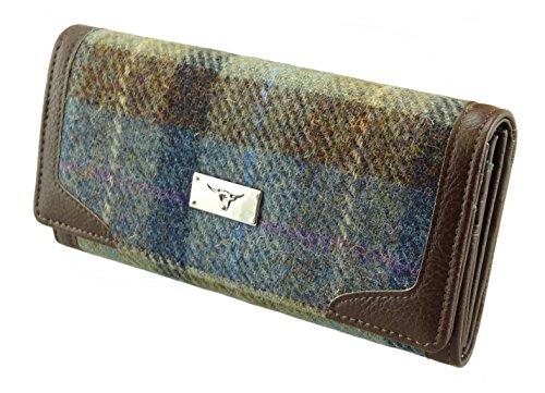 Damen Geldbörse/Portemonnaie von Harris Tweed us 100% LB2000 COL28