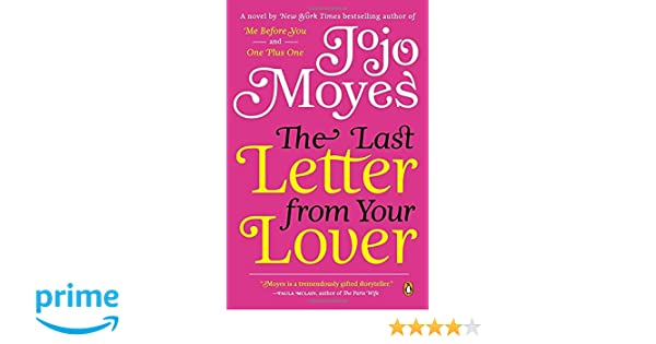 Buy The Last Letter from Your Lover A Novel Book line at Low