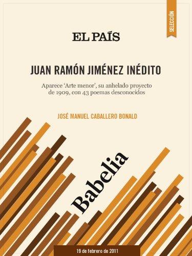 Juan Ramón Jiménez Inédito por JOSÉ MANUEL CABALLERO BONALD