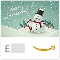 Santa and Snowman -  Amazon.co.uk eGift Voucher