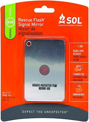 Adventure Medical Kits Sol Rettung Flash-Signal Spiegel, 0,6-Unze-