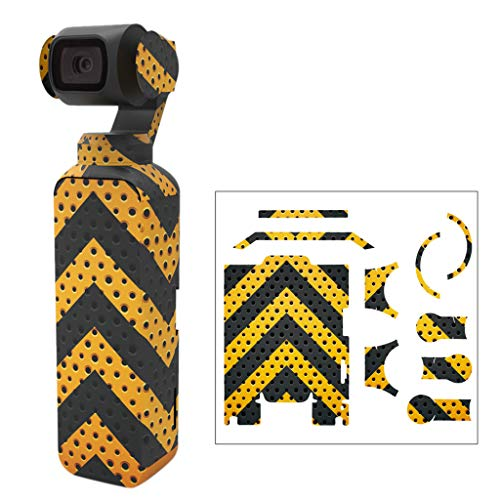 Janly Schutzhülle Box,Modische Decal Skin Aufkleber Schutzhülle für DJI OSMO Pocket Gimbal PVC Lagerung Box (C) (Pvc-container-lagerung)