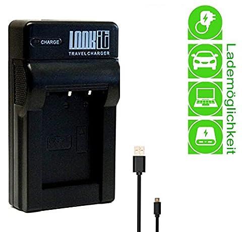 LOOKit Chargeur pour Batterie NB-11LH / NB11L pour Canon ixus
