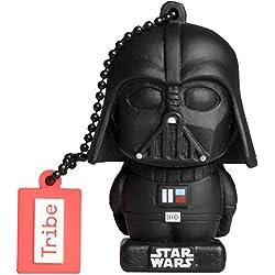 Tribe Star Wars 8 Darth Vader Chiavetta USB da 32 GB Pendrive Memoria USB Flash Drive 2.0 Memory Stick, Idee Regalo Originali, Figurine 3D, Archiviazione Dati USB con Portachiavi