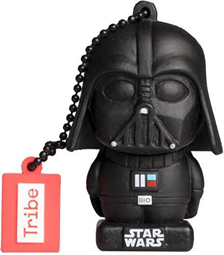 Tribe Star Wars 8 Pendrive - Memoria USB Flash Drive 2.0, DE Goma, de 16 GB con...