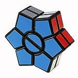 La mano ruotare il cubo di Rubik giocattolo, Mamum liscio e Speed Rubiks Cube puzzle spinner Focus Edc giocattolo per attenuare taglia unica Nero