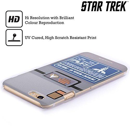 Offizielle Star Trek Padd Gadgets TNG Ruckseite Hülle für Apple iPhone 6 Plus / 6s Plus Medizinischen Ausstattung