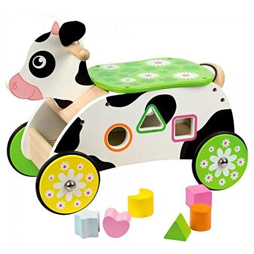 Bigjigs Toys Porteur vache