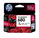 #1: HP 680 Tri-color Original Ink Advantage Cartridge