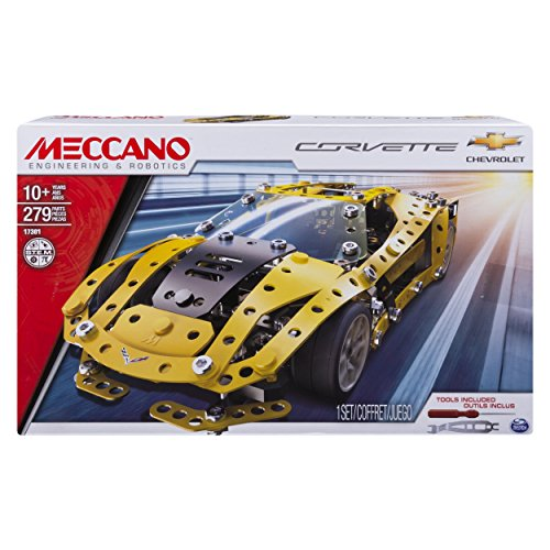 Meccano 6036477Chevrolet Corvette Auto Modell