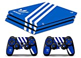 Skin Ps4 PRO - ADIDAS - limited edition DECAL COVER Schutzhüllen Faceplates playstation 4 SONY BUNDLE - VINYL POLIERTEN