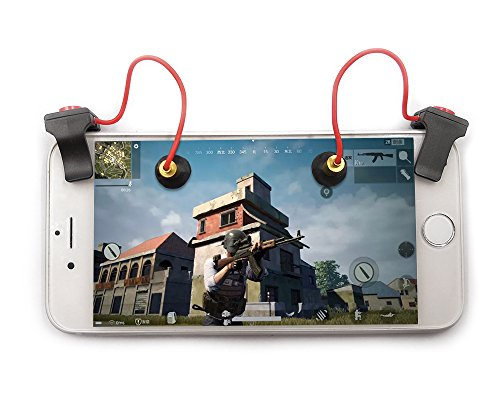 Mobile Gaming Trigger Fire Knopf Griff für iPhone Android iPad Survival Shooter Controller A (Ipad-feuer)