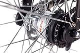 28″ Zoll Cityrad ALU Fahrrad E-BIKE Pedelec CHRISSON E-LADY mit 7G SHIMANO NEXUS & StVZO schwarz - 6