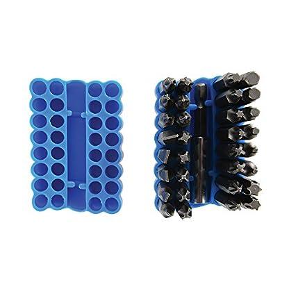 Silverline 456967 – Puntas para atornillador, 33 pzas (50 mm)