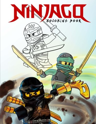 Preisvergleich Produktbild Ninjago Coloring Book: Color all your favorite Characters (Unofficial Art Book)