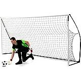 QuickPlay Sport QuickPlay Kickster Academy 16' x 7' Football Goal - Portería de...