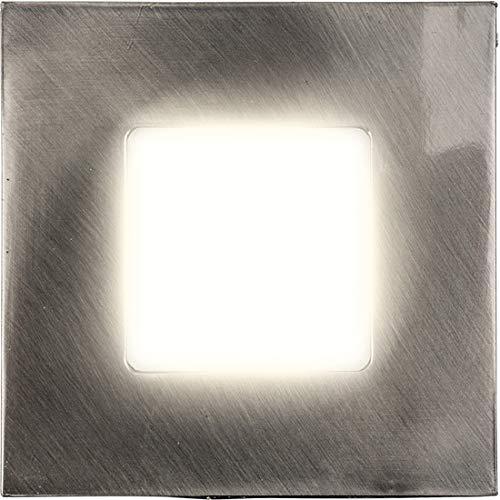 Heitronic 27693 A, Einbauleuchte, verschiedene Materialien, 7,5 x 2,2 cm