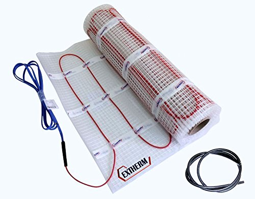 Preisvergleich Produktbild Extherm TWIN-Heizkabelmatte elektrische Fußbodenheizung 150 W/m² 5.0 m²