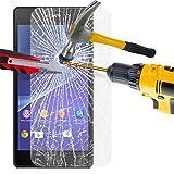 Styleyourmobile Sony Xperia Z (C6603) verschiedene PU Leder Magnetisch Flip Case Skin Cover Tasche + Stylus, Kunstleder, Tempered Glass Screen, MOBILE