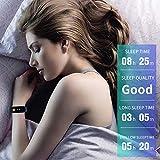 LCM Handring Pedometer Smart Color Screen Herzfrequenz Blut Druck-Monitoring Schritt Gegen...