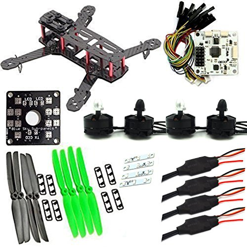 LHI QAV250 Pure Carbon Fiber Mini Quadcopter Race Copter