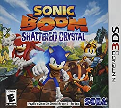 Sonic Boom Shattered Crystal (Nintendo 3DS) (NTSC - US Version)