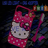 #8: For Gionee P7 Back Cover Cute Hello Kitty Soft Silicon For Gionee P7
