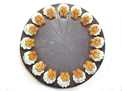 Noce di torte finta in plastica–cioccolato torte food dummy seconda scelta, cibo attrappe, fake food, deko scomparto per negozi, replica, pasticceria attrappe