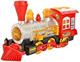 #6: Zest 4 Toyz Bubble Train Engine Toy Set With Extra Bubble Bottle for Long Funtime