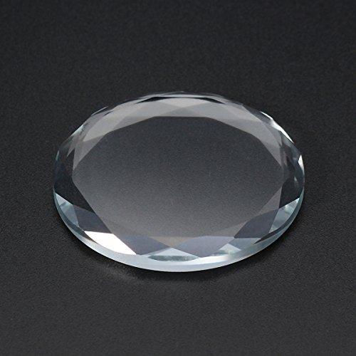 EgBert Support De Colle Pour Greffe De Verre Rond En Cristal Outil De Maquillage Adhésif Pour Faux Cils Cosmétique
