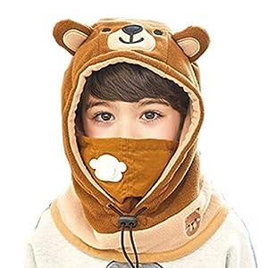 Azarxis Kinder Sturmhaube Thermische Balaclava Winddichte Skimaske Gesichtsmaske für Outdoor Jungen Mädchen