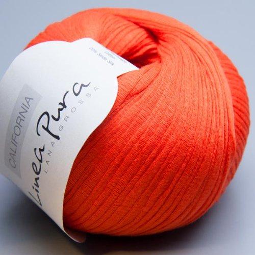 Lana Grossa Linea Pura California 006 flamme 50g Wolle