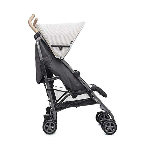 Easywalker Buggy Classic Breton  Suitable from birth 5 point 3 position harness Four recline positions with near flat recline 3