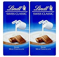 Lindt - Valentines Day Combo - swiss classic milk chocolate 100gm (Pack of 2)